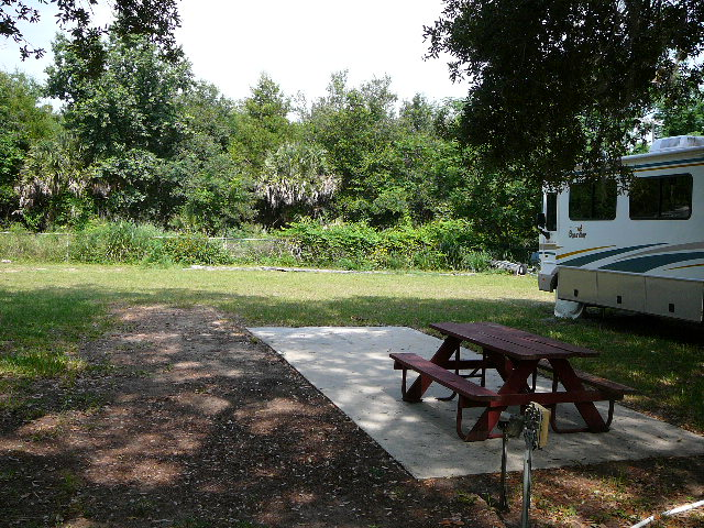 RV site-T8B facing west